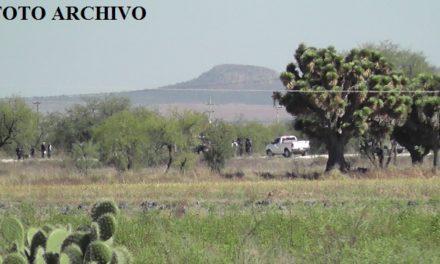 ¡Joven fue ejecutado a balazos entre unos barbechos en Zacatecas!