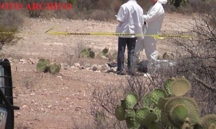 ¡Hallaron cuerpo en estado de putrefacción en Nochistlán, Zacatecas!