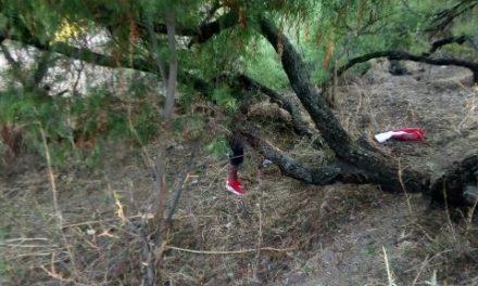 ¡Joven se ahorcó y protagonizó el suicidio 41 del 2018 en Aguascalientes!