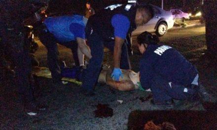¡Joven peatón atropellado en Aguascalientes está al borde de la muerte!