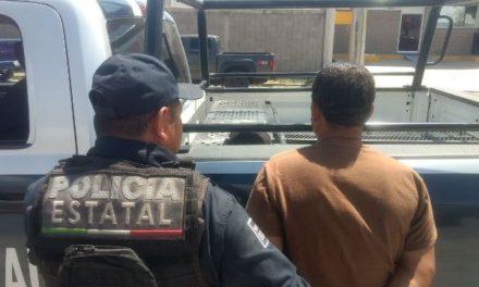 ¡Detienen elementos de la SSPE a trailero por el delito de cohecho en la Puerta de Acceso Oriente en Aguascalientes!