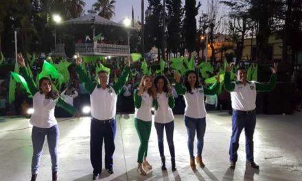 ¡Arrancan campaña candidatos del Partido Verde!