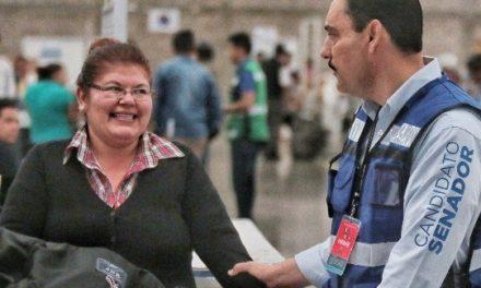 ¡Desde el Senado legislaré para promover la equidad de género: Toño Martín del Campo!