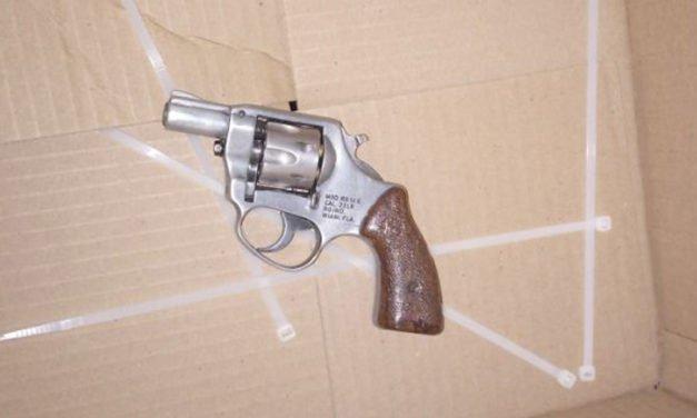 Detuvo la Policía Municipal de Aguascalientes a un individuo por portación de arma de fuego