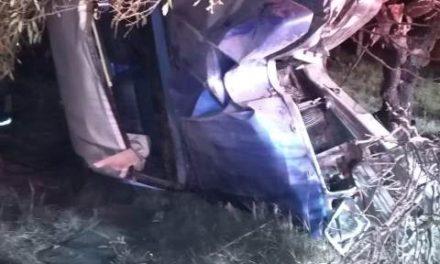 ¡Fatal accidente en Aguascalientes dejó 3 muertos y 4 lesionados!