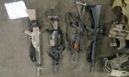 ¡Capturaron a 12 miembros de un grupo delictivo con un arsenal en Ojuelos, Jalisco!