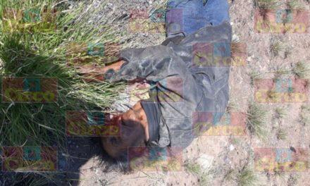 ¡Camioneta de empresa minera atropelló y mató a un peatón en Fresnillo!