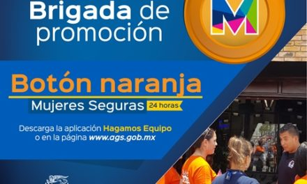¡Brigada naranja llega a la Feria Nacional de San Marcos!