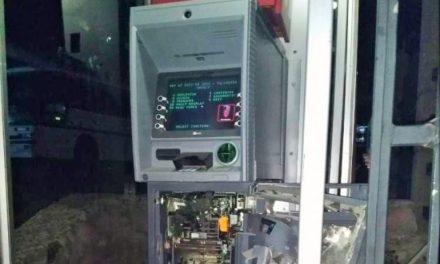 ¡Asaltantes hicieron explotar un cajero automático para saquearlo en Zacatecas!