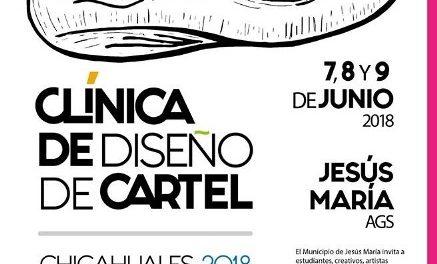 ¡Convoca instancia de la Feria los Chicahuales al primer taller de diseño de cartel en Jesús María!