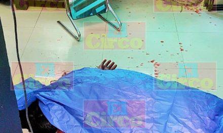 ¡Ejecutaron a un individuo dentro de una tienda de ropa en la Zona Centro de Lagos de Moreno!