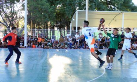 ¡Selectivo de handball mantiene encuentros de fogueo rumbo a la Olimpiada Nacional y Campeonato Nacional Juvenil 2018!