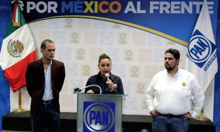 ¡Candidatos del PRI mienten: voceros de la Coalición Por México al Frente!