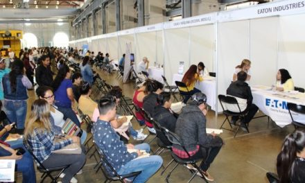 ¡Con una gran afluencia se llevó a cabo la Cuarta Feria de Empleo Aguascalientes 2018!