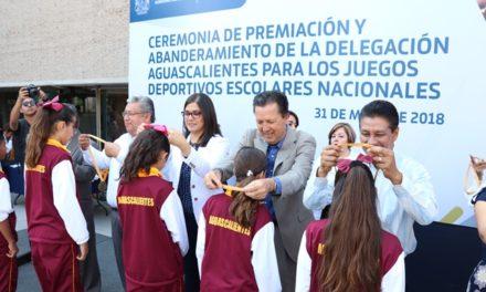 ¡Alumnos de primaria y secundaria representarán a Aguascalientes en Juegos Deportivos Nacionales!