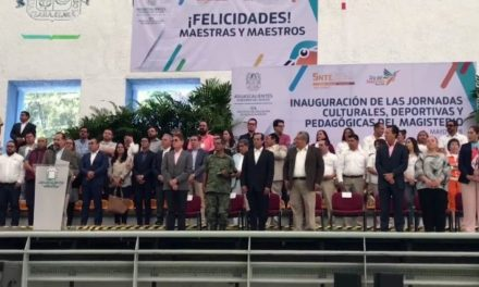 ¡Inauguran Jornada Cultural, Deportiva y Pedagógica del Magisterio 2018!