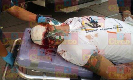 ¡Intentan ejecutar de un balazo en la cabeza a un gallero de Jalisco, esta grave!