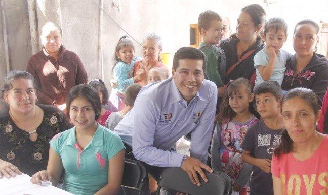 ¡Promoverá Leo Montañez respaldo jurídico, psicológico y económico para jefas de familia!