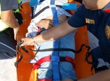 ¡Albañil se salvó de morir electrocutado en una construcción en Aguascalientes!