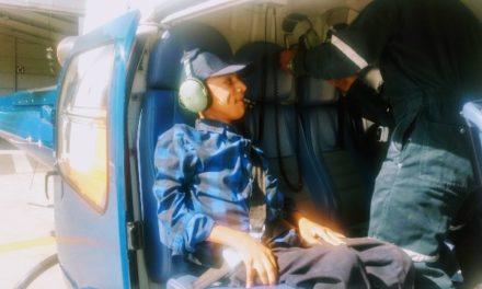 ¡Concede la SSPE deseo a un adolescente, realizar un viaje a bordo del helicóptero Águila 1!