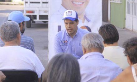 ¡Impulsará Leo Montañez transparencia en entrega de programas sociales!