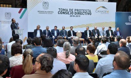 ¡Toma protesta nuevo Consejo de la Canadevi en Aguascalientes!