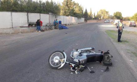 ¡Un hombre falleció tras accidentarse en su motocicleta en Aguascalientes!