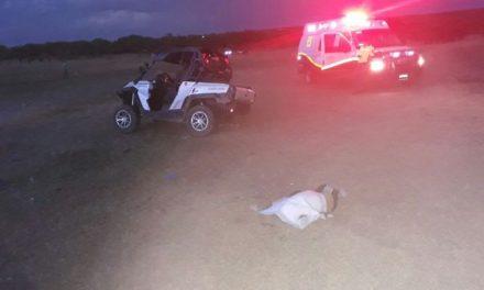 ¡Niño de 4 años de edad murió aplastado por un auto racer todo terreno en Aguascalientes!
