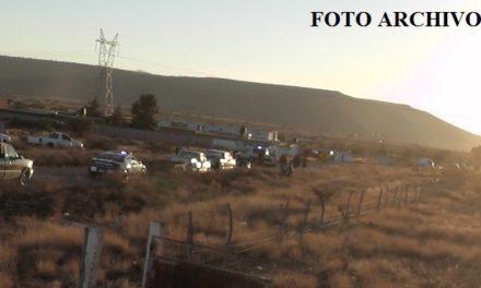 ¡Una niña muerta y 2 lesionados tras volcadura de un auto en Sombrerete, Zacatecas!