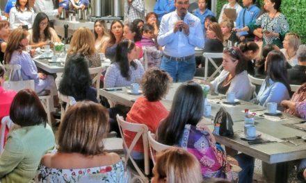 ¡Apoyaré a las mujeres empresarias: Toño Martín del Campo!
