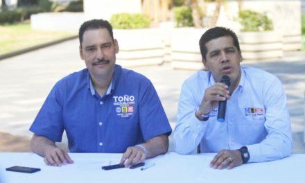 ¡Apostará Toño Martín del Campo a la construcción de un México seguro y en paz!