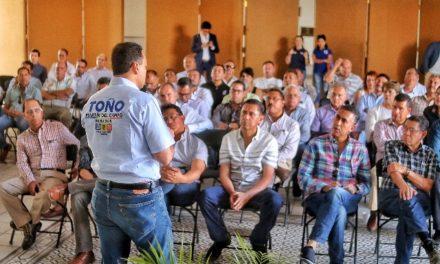 ¡Es el sector de la construcción pieza fundamental para el crecimiento y desarrollo de la sociedad: Toño Martín del Campo!