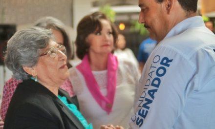¡Garantizar a las mujeres el derecho a una vida libre de violencia, una de mis prioridades: Toño Martín del Campo!