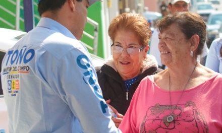 ¡Necesario fortalecer la confianza ciudadana en las instituciones gubernamentales: Toño Martín del Campo!