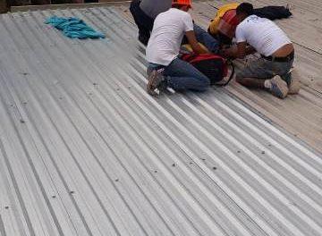 ¡Joven sufrió una descarga eléctrica en Pabellón de Arteaga, Aguascalientes!