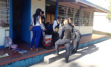 ¡Frustran policías estatales robo a escuela primaria en Aguascalientes!