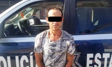 ¡Detienen policías estatales a individuo con un arma de fuego en Aguascalientes!
