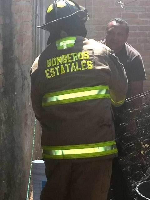 ¡Sofocan bomberos incendio en Margaritas, Jesús María!