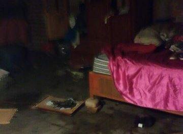 ¡Bomberos rescataron a joven intoxicado y sofocaron incendio en una casa en Aguascalientes!