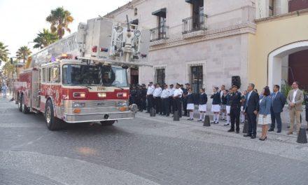 ¡Bomberos de Jesús María reciben una nueva unidad para su equipo de rescate!