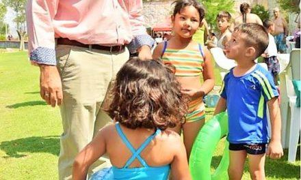 ¡Convive el gobernador con niños y jóvenes de colonias y municipios del Estado!
