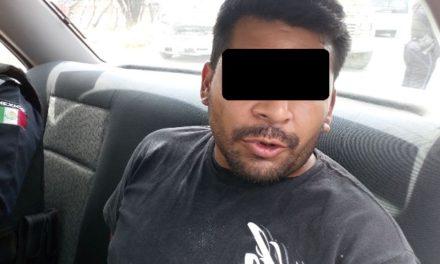 ¡Elementos de la SSPE de Aguascalientes detuvieron a sujeto que escondía droga en el motor de su automóvil!