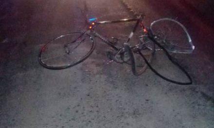 """¡Ciclista murió embestido y arrastrado por un vehículo """"fantasma"""" en Aguascalientes!"""