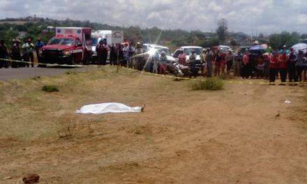 ¡Trágico accidente de estudiantes de secundaria en Saín Alto: 1 muerta y 5 lesionados!