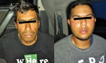 ¡Tras peliculesca persecución por tierra y aire capturaron a 2 asaltantes en Aguascalientes!