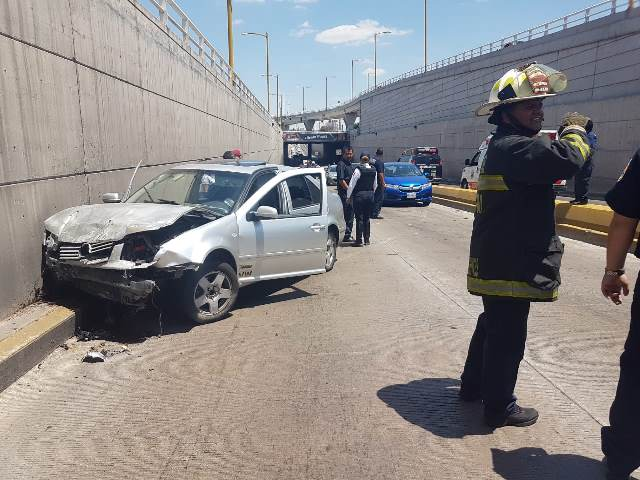 ¡Espectacular accidente en Aguascalientes dejó pérdidas materiales por $120 mil!