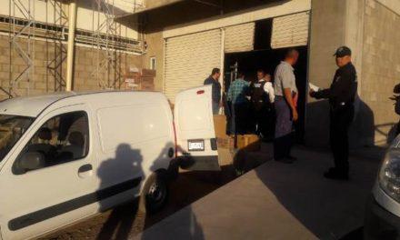 ¡2 pistoleros asaltaron una bodega de venta de abarrotes en Aguascalientes!