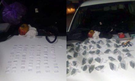 ¡Detuvieron a una mujer con 119 dosis de drogas y $11 mil en efectivo en Sombrerete, Zacatecas!