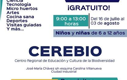 """¡El Ayuntamiento de Aguascalientes invita a pequeños a participar en el curso de verano """"La Carta de la Tierra en mis Vacaciones""""!"""