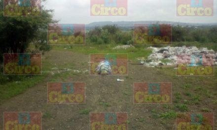 ¡Encontraron un cuerpo embolsado y encintado en Lagos de Moreno!